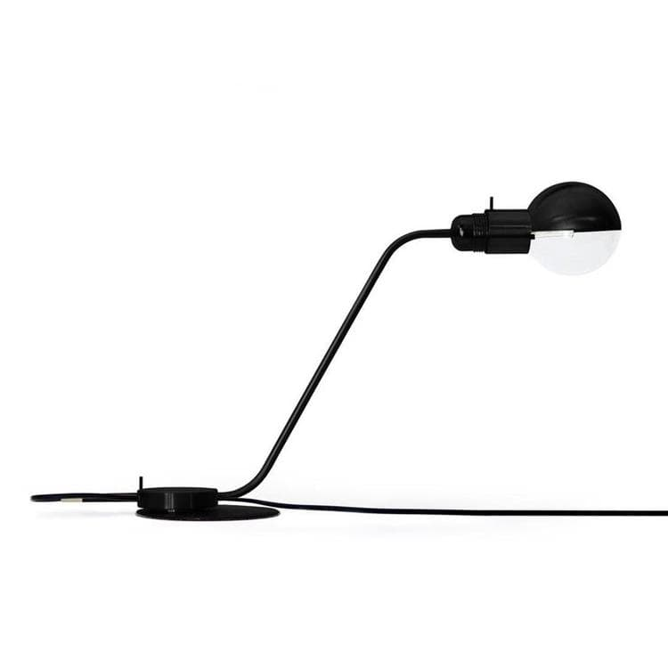 TABLE LAMP - Lampe de bureau L57,5cm Czarny