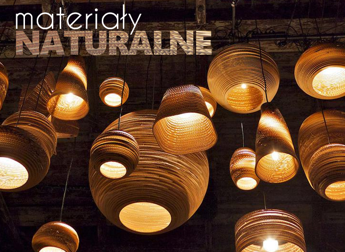 lampy trend naturalne materiały