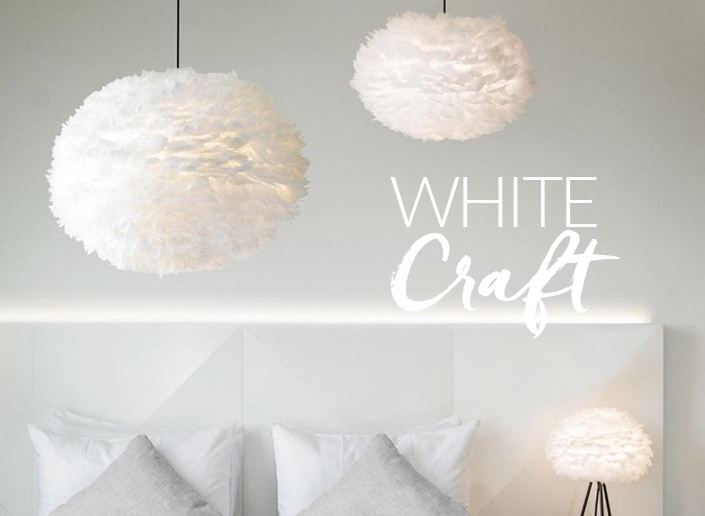 lampa trend white craft